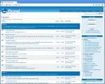 Drupal Forum Screenshot